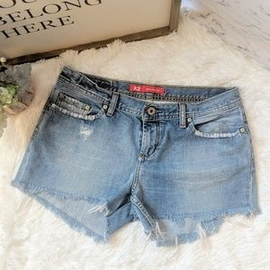 X2 denim laboratory by Express shorts